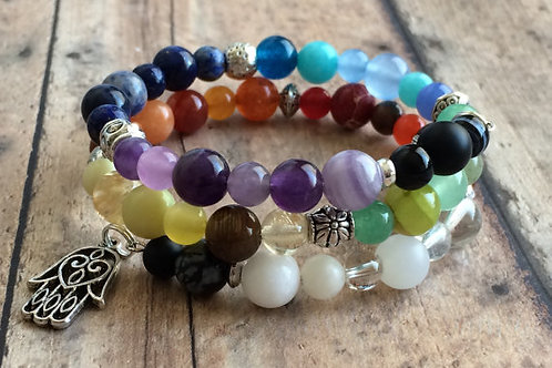 Seven Chakras Balance Bracelet