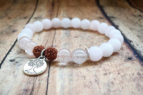 Rose Quartz Love Energy Bracelet