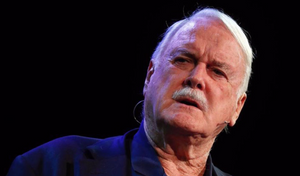 John Cleese speaking at The Pendulum Summit, Dublin