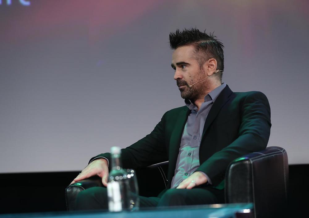 Colin Farrell, Award Winning Actor speaking at The Pendulum Summit, Dublin