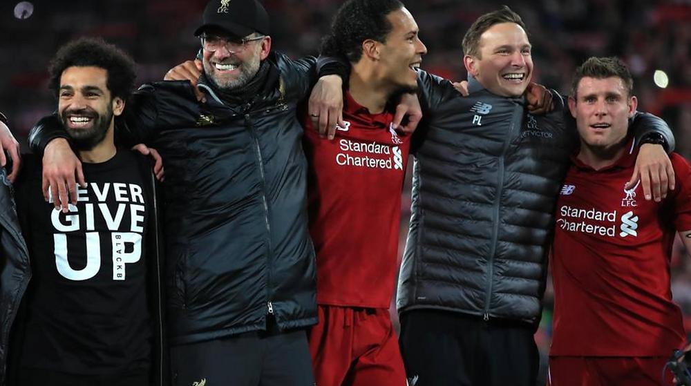 Jurgen Klopp, Liverpool's Football Club Manager.