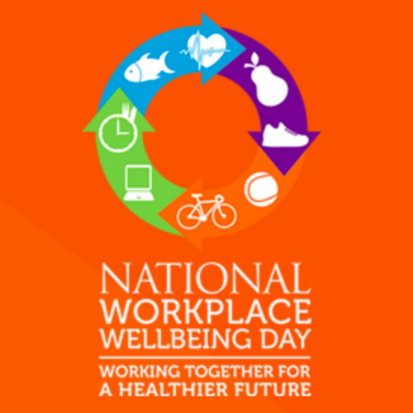 Is it a bird, is it a plane? No, it's Workplace Wellbeing Day!