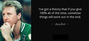 Larry Bird PepTalk