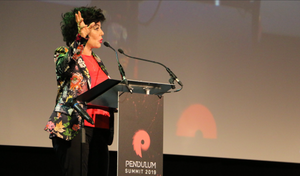 Ruby Wax OBE – Actress, Comedian and Writer at Pendulum Summit, Dublin