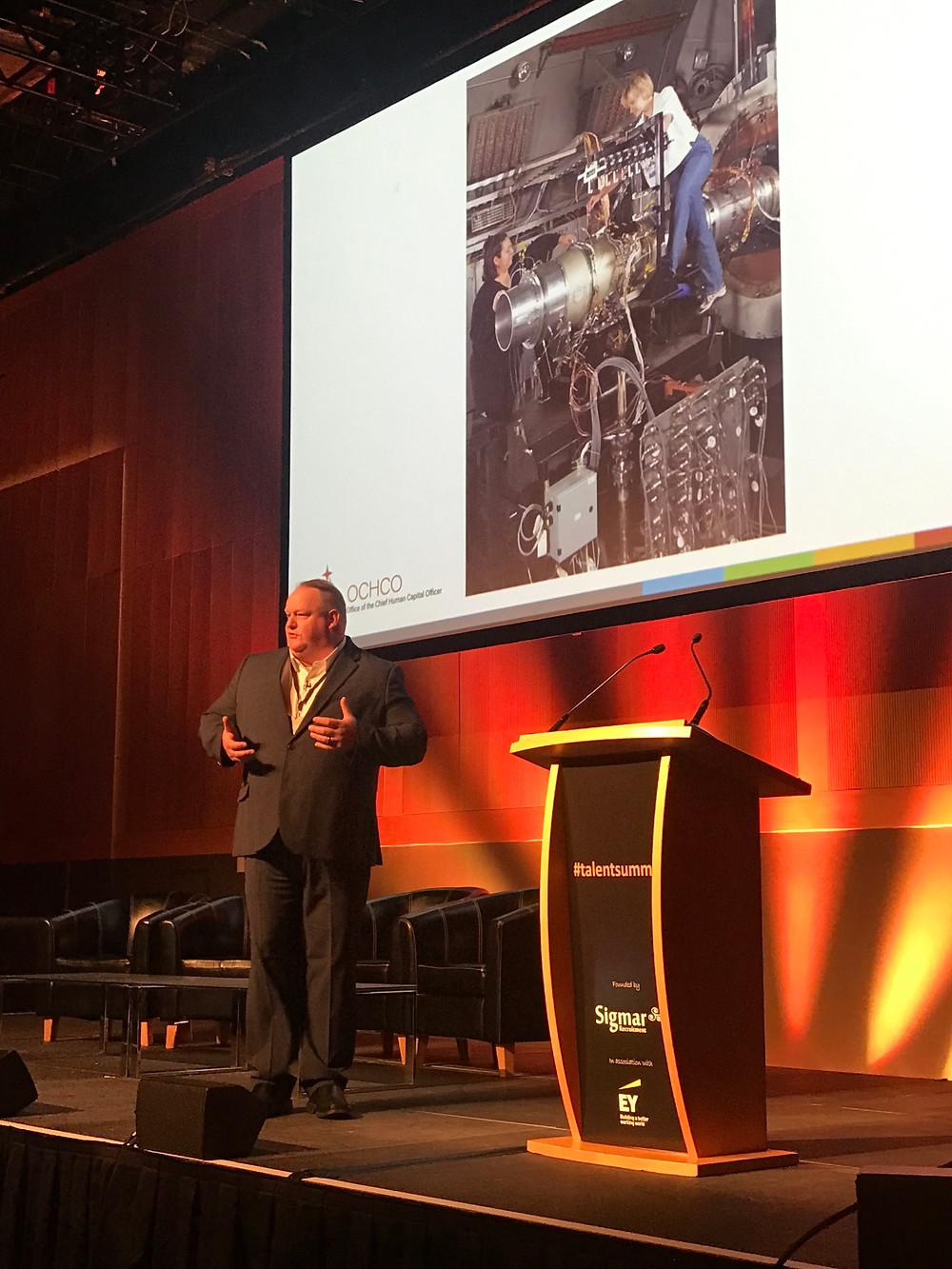 Robert Gibb, Chief Human Capital Officer, NASA at Talent Summit, Dublin