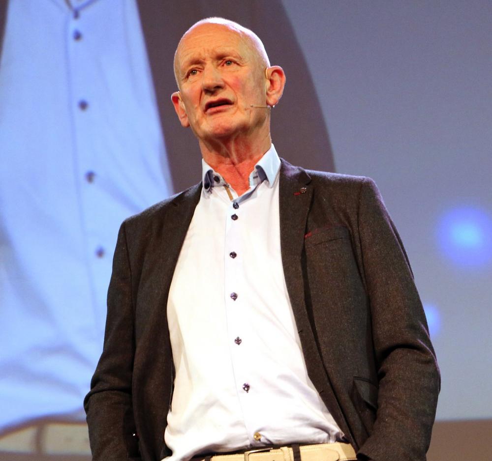 Brian Cody speaking at The Pendulum Summit, Dublin