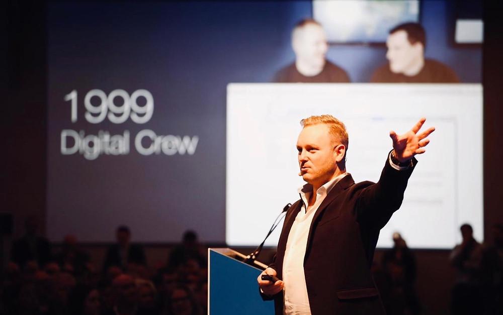 Peter Coppinger of Teamworks at Enterprise Ireland, Start up Showcase 2019