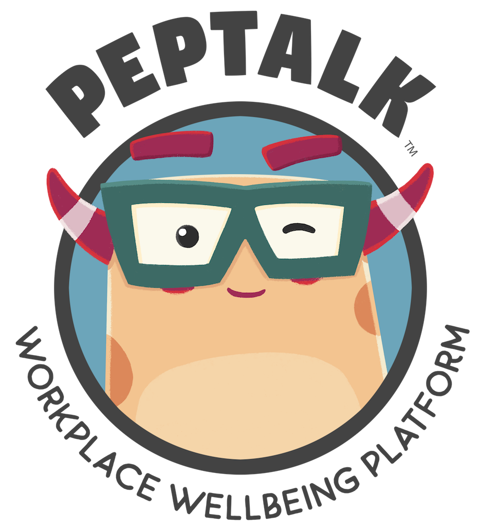 Logo for PepTalk - The Workplace Wellbeing Platform or Corporate Wellbeing Platform
