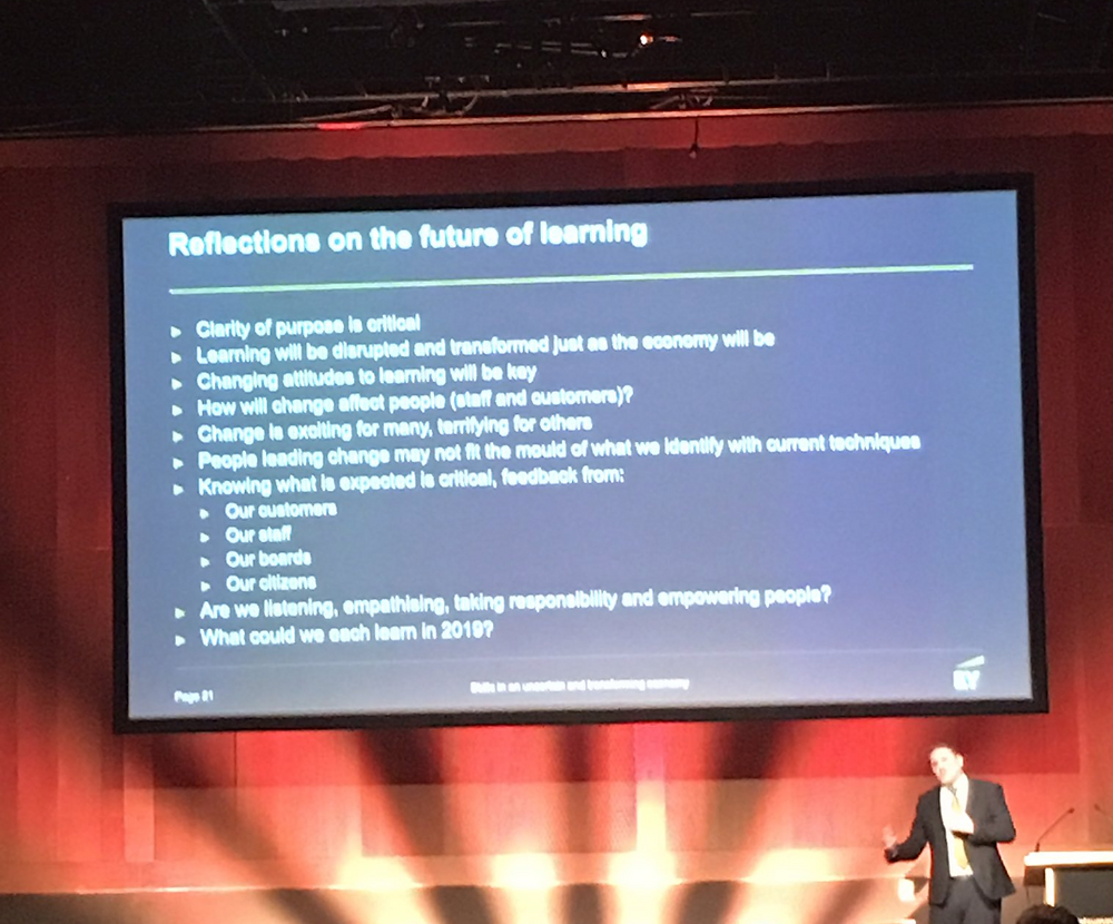 Talent Summit Dublin Future of Learning