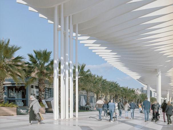 port of málaga — junquera arquitectos, málaga