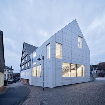 Architekturfotografie Museum Baumholder Aussenansicht