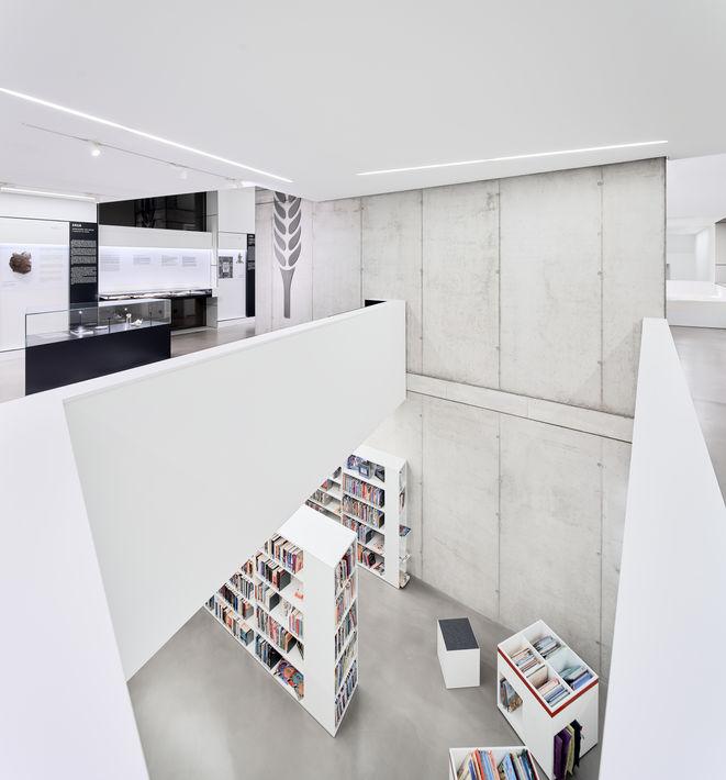 Architekturfotografie Museum Baumholder Buecherei