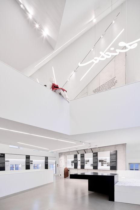 Architekturfotografie Museum Baumholder Innenansichten