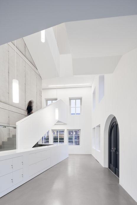 Architekturfotografie Museum Baumholder Treppenhaus