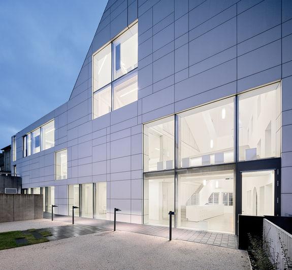 Architekturfotografie Museum Baumholder Innenhof
