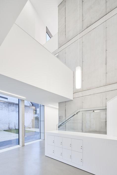 Architekturfotografie Museum Baumholder Treppen im Eingang