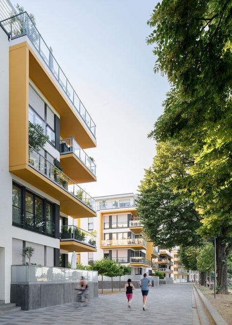 Architekturfotograf Mainz Winterhafen