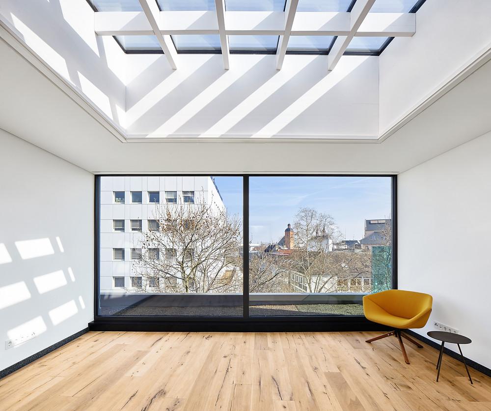 Architekturfotografie eines Penthouse in Mainz