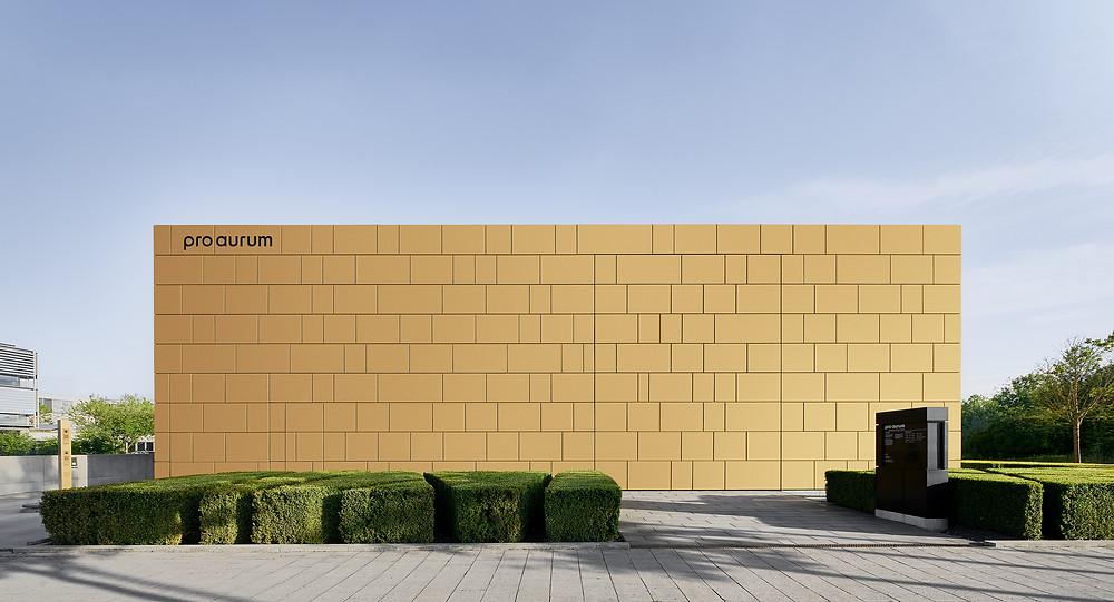 Architekturfotografie des Goldhaus für pro aurum in München.