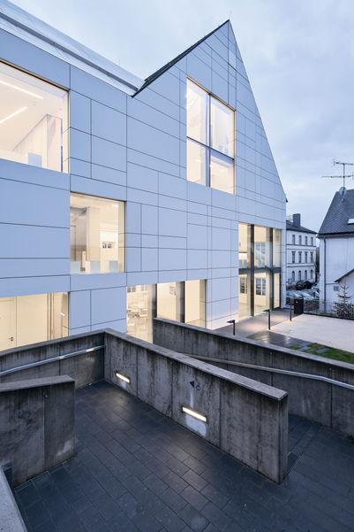 Architekturfotografie Museum Baumholder Fassadenaufnahme
