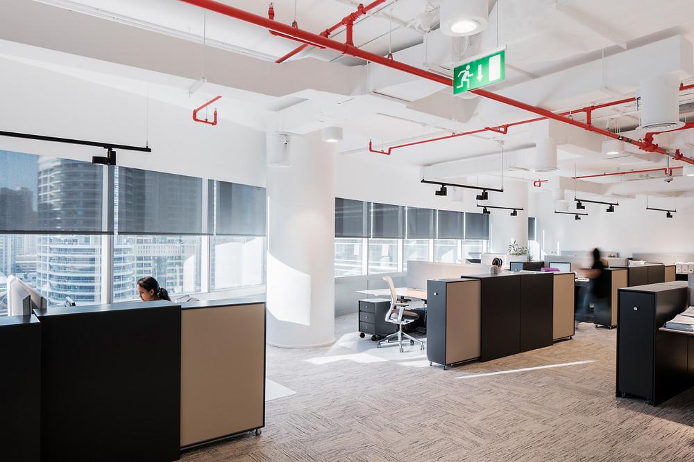 Interieurfotografie für das Einrichtungsbüro The Den Dubai