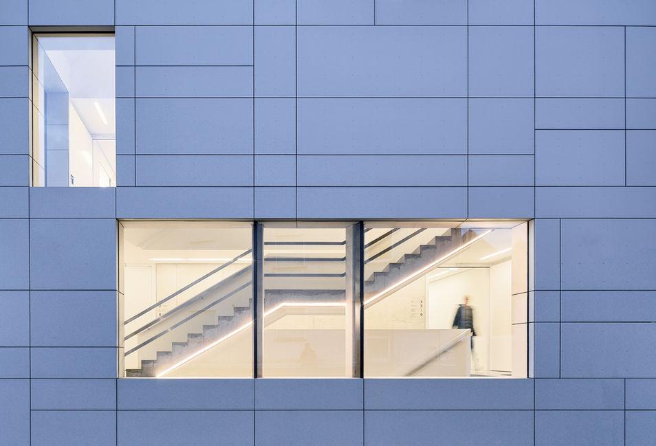 Architekturfotografie Museum Baumholder Aussendetail
