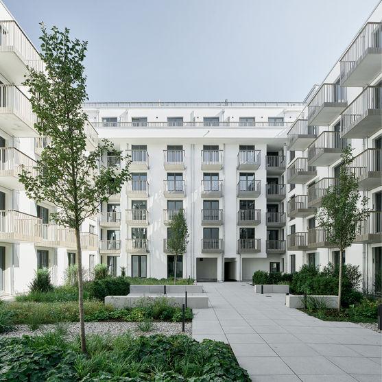 Architekturfotografie des Hotels SchwanLocke in München