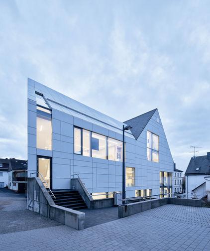 Architekturfotografie Museum Baumholder Dämmerungsaufnahme