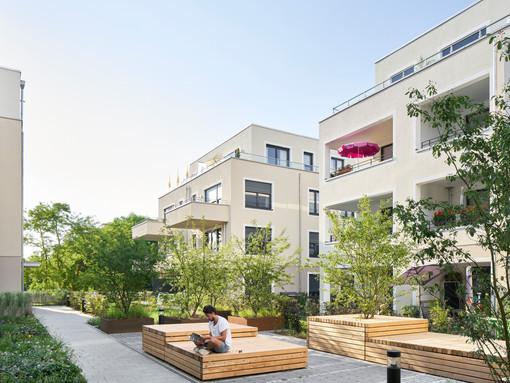 architekturfotografie / wohnen am weiher für faerber architekten