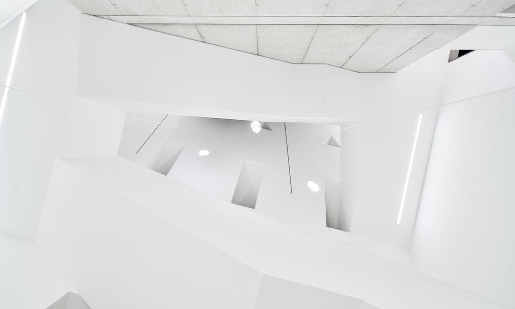 Architekturfotografie Museum Baumholder Treppen Detail