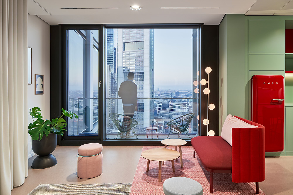 Architekturfotografie einer Anwaltskanzlei in Frankfurt am Main.
