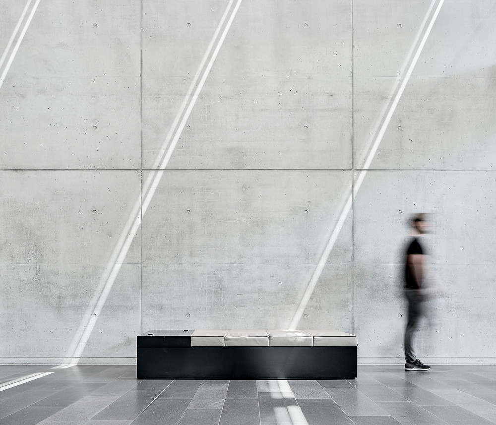 Architekturfotografie des Interieurs des Goldhaus für pro aurum in München.