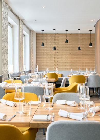 Architekturfotografie des Sterne Restaurants Steins Traube
