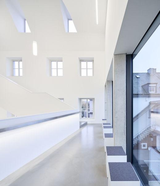 Architekturfotografie Museum Baumholder Treppenhaus Aufnahme
