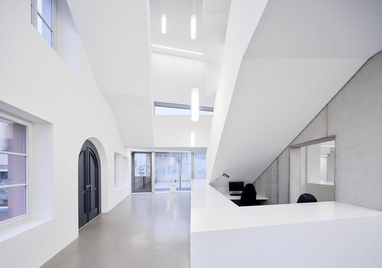 Architekturfotografie Museum Baumholder Eingangsbereich