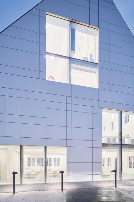 Architekturfotografie Museum Baumholder Ansicht vom Hof