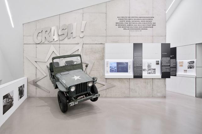 Architekturfotografie Museum Baumholder Ausstellungswand