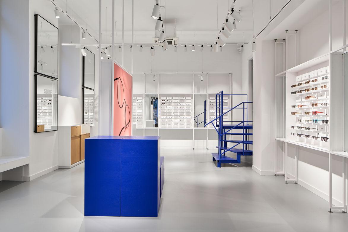 Architekturfotografie für Ace & Tate in Berlin