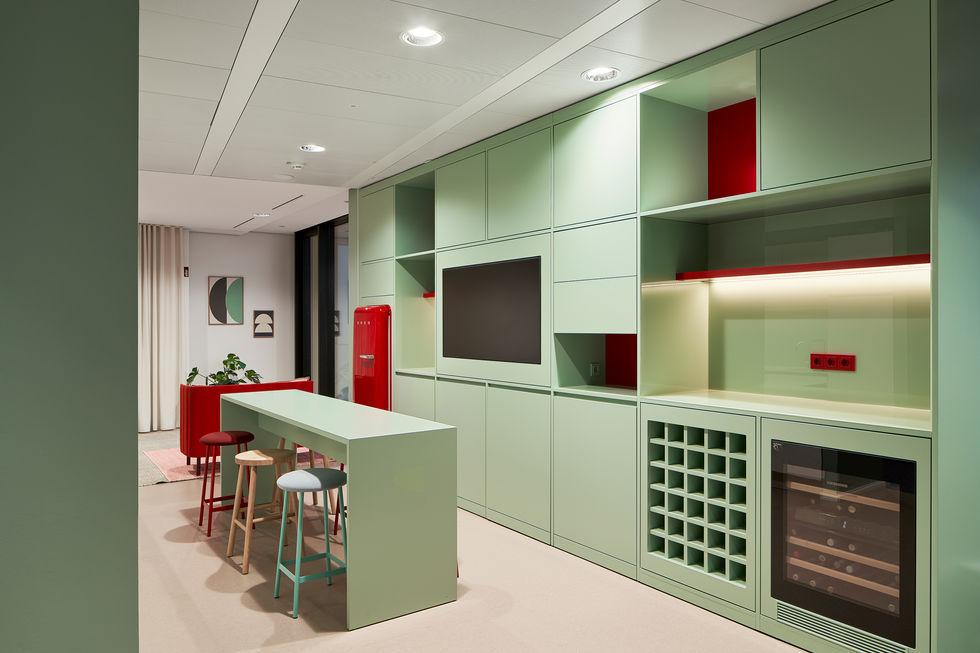 Architekturfotografie eines Büro Interieurs in Frankfurt
