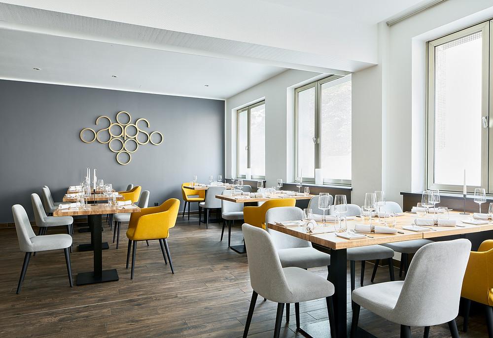 Interieurfotografie eines Restaurants in Mainz