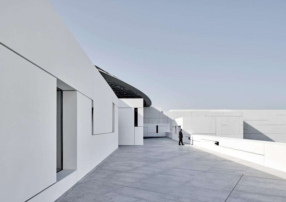 Architekturfotograf Frankfurt und Mainz Louvre Abu Dhabi
