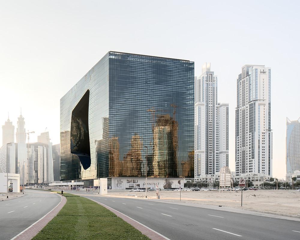 The Opus by Zaha Hadid Architects in Dubai, United Arabic Emirates