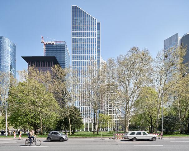 Architekturfotograf Frankfurt Wiedemuth Hochhaus TaunusTurm 001