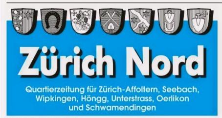 Wir sind in der Zürich Nord Zeitung!