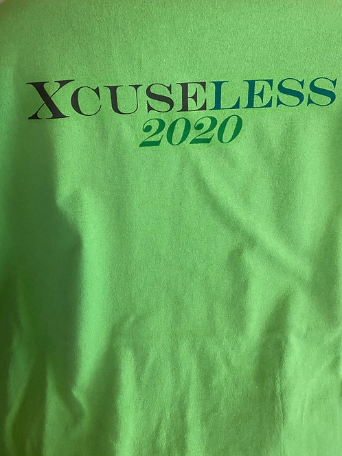 Xcuseless 2020 Green T-Shirt