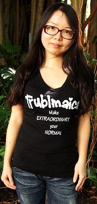 V neck T-Shirt(F): Extraordinary