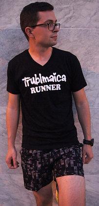 V neck T-Shirt(M): Runner