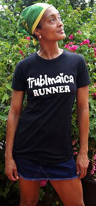 Crew neck T-Shirt(F): Runner