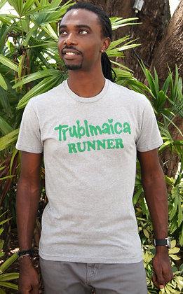 Crew neck T-Shirt(M): Runner