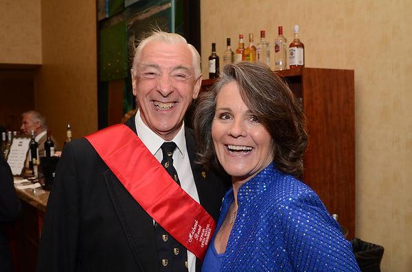 ISHOF 2014 Mike Reed and Sandra Bucha.JP